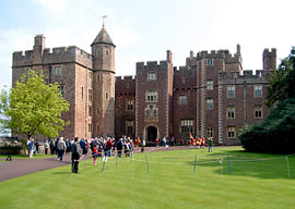 dunster castle near butlins minehead