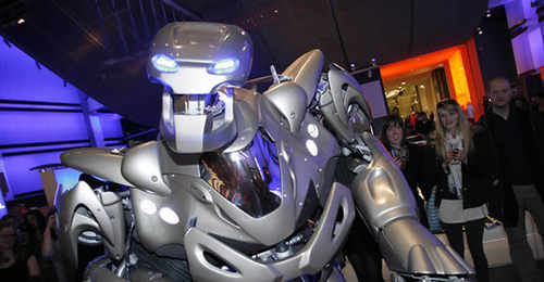 titan the robot at Butlins Minehead