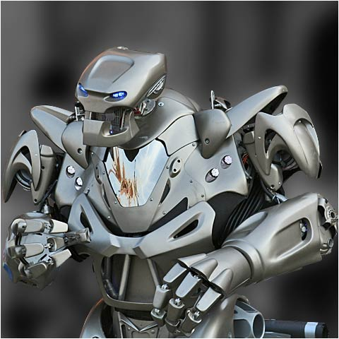 titan the robot at butlins