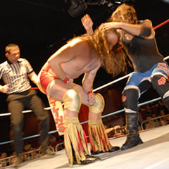 superslam wrestling at minehead butlins