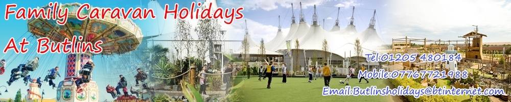 Family Caravan Holidays at Butlins, site logo.