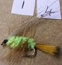 1 pk of 10 wet flies.no14