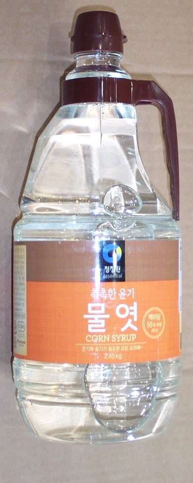 Corn Syrup clear  2.45kg bottle.