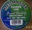 1 spool of Megmaster fishing line 600yds of 10lb