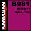 Kamasan B981 barbless specimen #20 hooks.x 19 pkts.