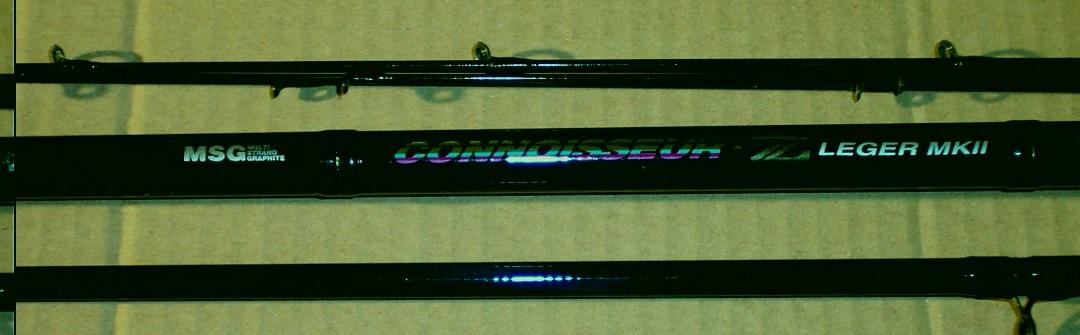 Daiwa Connoisseur-Z ledger MK11 rod.