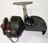 Dam  Quick super fishing reel, VERY OLD, GERMAN.