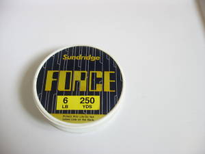 Sundridge Force fishing line 250yd.