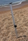 Beach rod aluminium sand spike