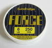 5 spools of force fishing line 250yd spools.plus 1 free.