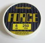5 spools of force fishing line 250yd spools.plus 1 free.