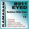 Kamasan B911 eyed barbless hooks x 14 pkts.