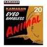Kamasan animal eyed b/less hooks.