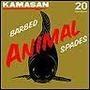 Kamasan animal barbed spade hooks