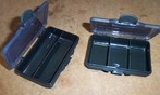 Fishing tackle Bitts boxes x 2.