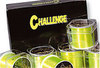 Challenge yellow fishing Line bulk 4oz spools x 6.