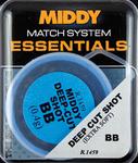 Middy split shot BB refill tubs x 25.