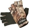 1pr of TFG  camo  neoprene fingerless gloves.