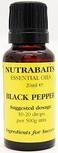 Nutrabaits essential oils 20ml. Black pepper.