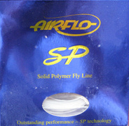 Airflo SP Solid polymer fly line.