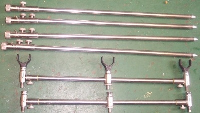 Stainless bank sticks and buzz bars