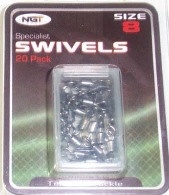 NGT size 8 swivels x 20.