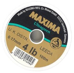 Maxima ultragreen line.