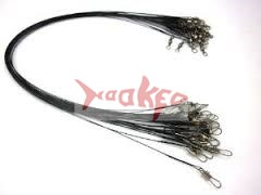 1 pack of 72 nylon coated wire leaders.