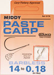 Middy paste carp incorporating wire coil system #10.