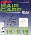 Middy hair carp size 12.b/less