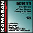 Kamasan B911 b/less wide gapt swept point #20. x 5 pkts