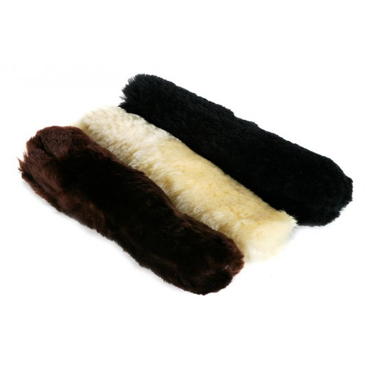 Long Sheepskin fleeces ideal for the front of Combinations and Hackamores
