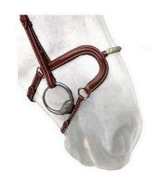 Silver Crown H Noseband - Cord / Rope