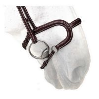 Silver Crown H Noseband - Flat padded
