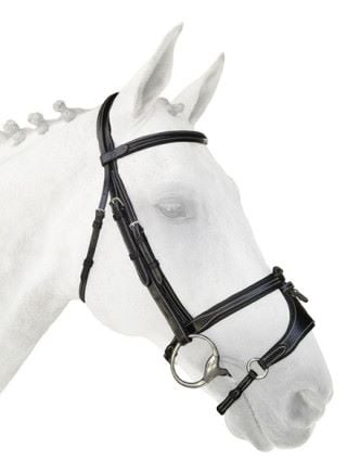 Silver Crown Adjustable X Noseband