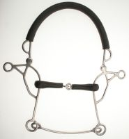 Abbey Rubber Jointed Combination Hackamore