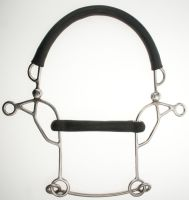Abbey Rubber Mullen Combination Hackamore