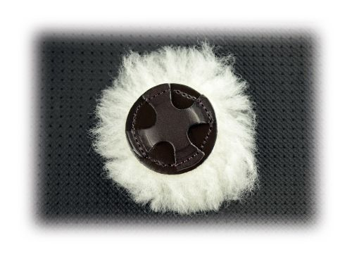 Dever Spare Sheepskin Pad for Grackle Noseband