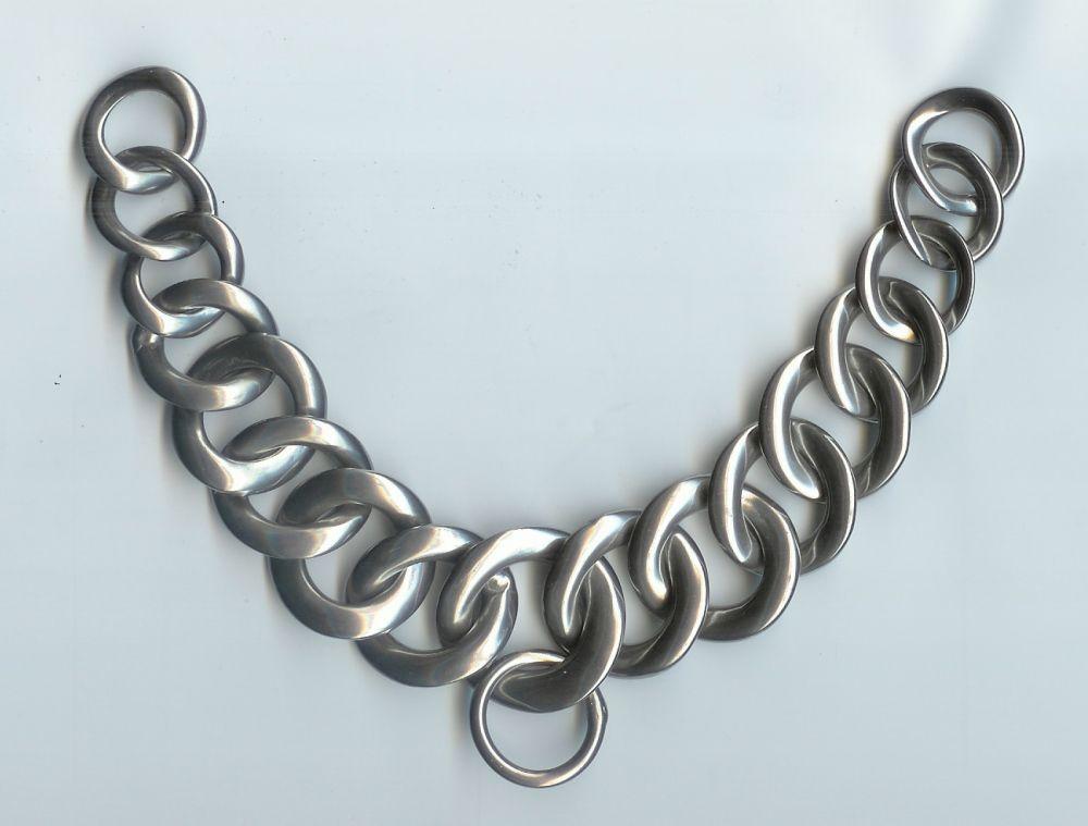 Curb Chains - elastic/polo