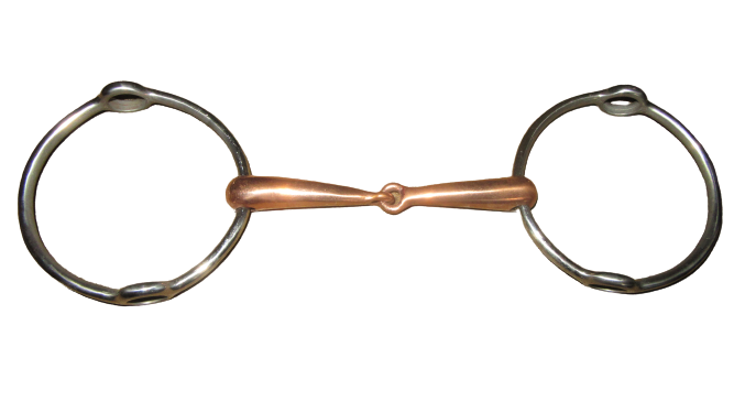 Large Ring Copper Jointed Gag