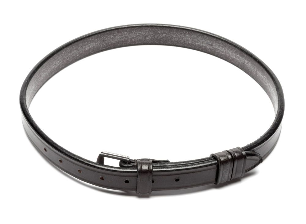 Stephens plain leather curb strap- Pony size
