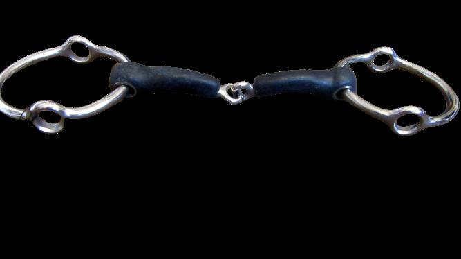 Abbey Vulcanite Jointed Loose Ring Gag