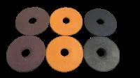 Bombers Orange /Black / Brown Bit Rubbers / Guards