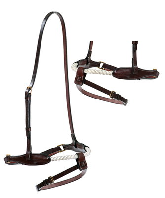 Stephens Drawtite Rope Cavesson Flash Noseband