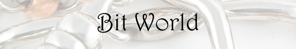 Bit World, site logo.