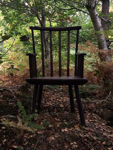 18th Century Welsh Priimitive Ash Stick Back Chair