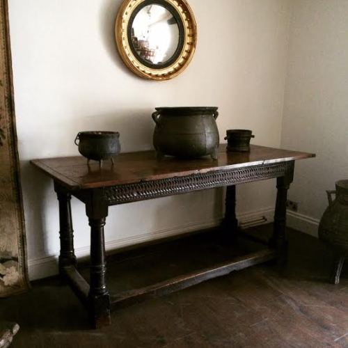 A 17th Century Carved Oak Salisbury Serving Table