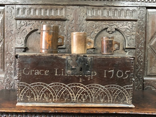 Graces Bible Box Dated 1705 SORRY SOLD