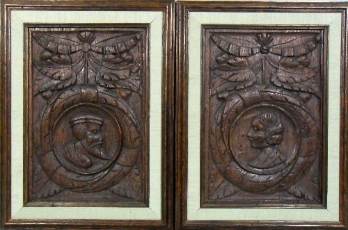 pair of romayne panels