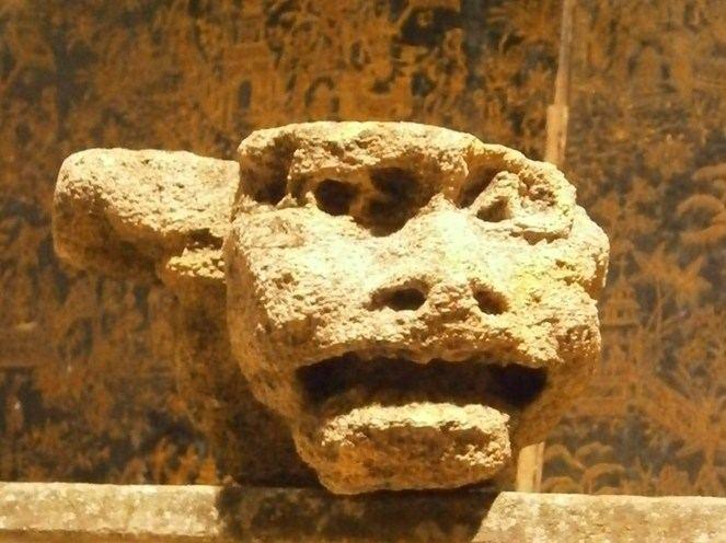 medieval stone grotesque